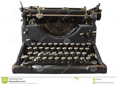 old fashioned typewriter royalty free stock photography