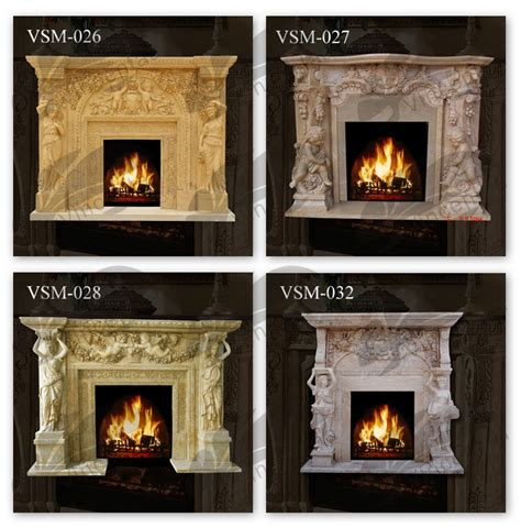 high quality home decor marble fireproof material