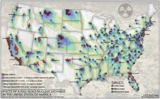 us radiation fallout map nuclear fallout maps american redoubt