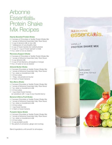 Protein Shake Detox Diet best 25 arbonne protein shakes ideas on