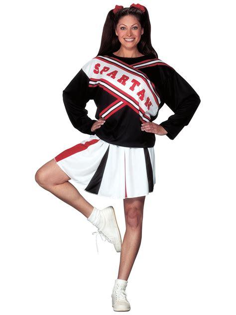 cheerleader costumes costume supercenter spartan cheerleader female costume womens snl costumes