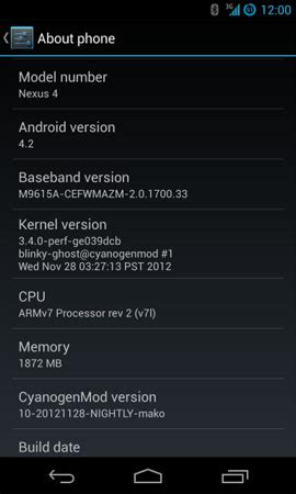 dispositivos cyanogenmod cyanogenmod 10 1 disponible en m 225 s dispositivos nexus
