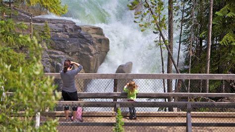 18 Meters To Feet by Sunwapta Falls In Jasper Alberta Expedia Ca