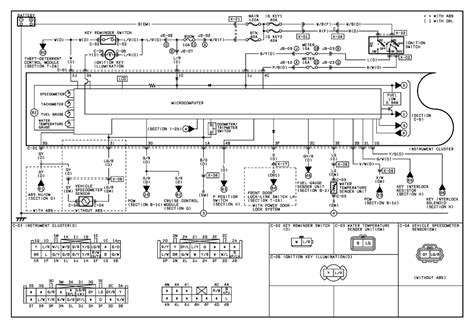 2004 honda civic instrument cluster wiring diagram 94