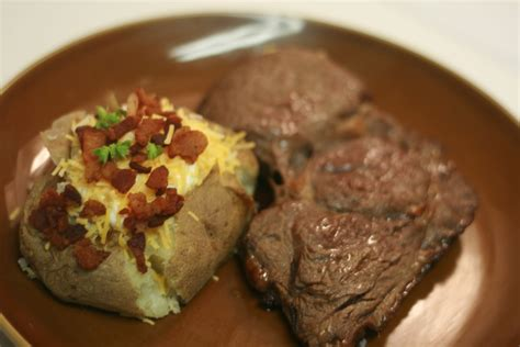 what is cooking now steak and potatoes