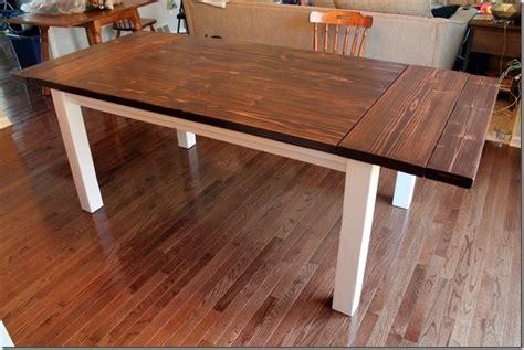 farmhouse table with extensions diy farmhouse table with extension leaves with plans
