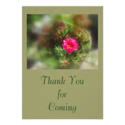 thank you for coming cards photocards invitations more