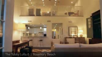 3 bedroom condos rosemary beach the tabby lofts exclusive luxury 3