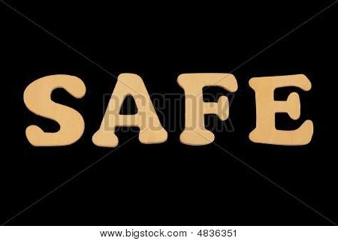 other words for safe wooden word safe stock photo stock images bigstock