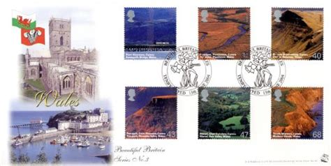 Great Britain St Fd Cover 2004 A Journey Wales St wales a journey st david s and tenby day cover bfdc