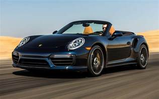 Porsche 911 Turbo Cabriolet Porsche 911 Turbo S Cabriolet 2017 Us Wallpapers And Hd