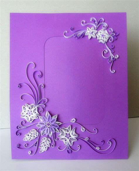 quilling tutorial card 97 best rame foto images on pinterest quilling paper