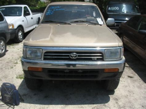 1995 Toyota 4runner Accessories Used 1995 Toyota 4runner Front Grille Chrome Part