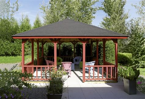Pavillon 5x4 by дървени беседки дърводелски работи