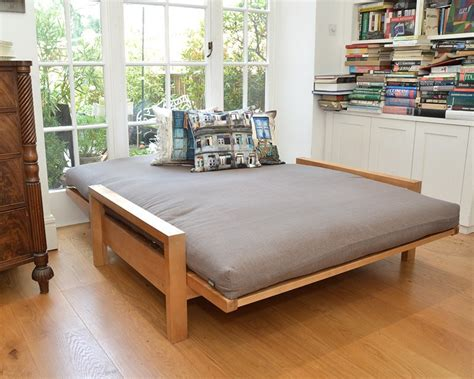 Futon Company Sofa Bed 2 Seater Solid Birch Sofa Bed