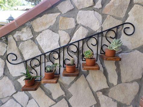 porta vasi in ferro porta vaso piante fiori fioriera mensola in ferro battuto