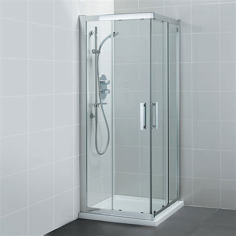 Bathroom Shower Enclosures Suppliers Ideal Standard Synergy Corner Entry Enclosure 900mm