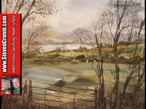 tutorial watercolor landscape watercolour landscape painting tutorial featuring view