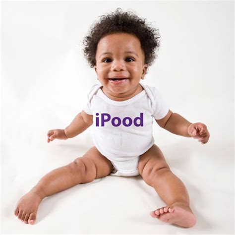 My Baby Grow personalised ipood baby grow the gift experience