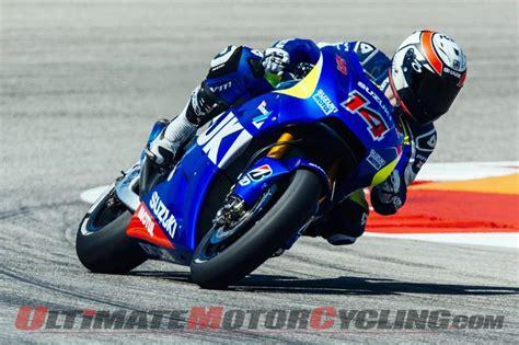 Suzuki Of The Americas Suzuki Motogp Test Team Concludes Sessions At Circuit Of