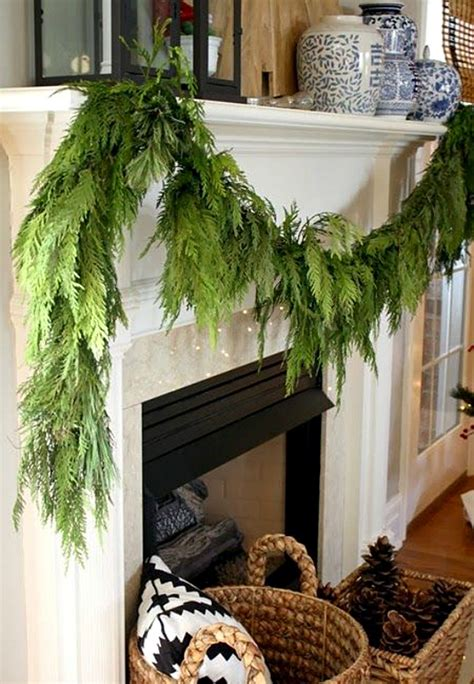 garland with lights for mantle 10 tips and tricks for decorating with evergreens