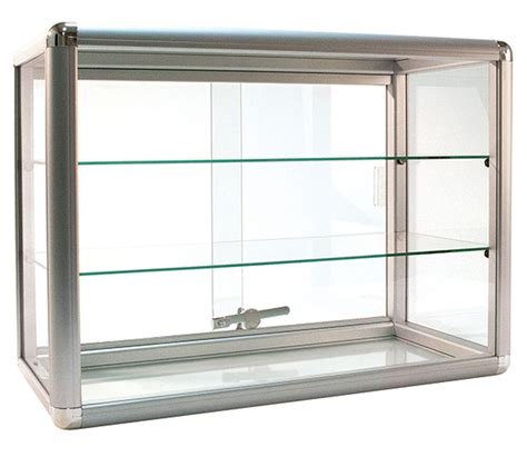Countertop Showcase by Countertop Glass Showcase Retail Store Merchandise Display