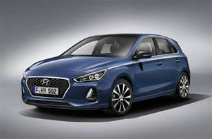 Hyundai I30 2017 Hyundai I30 Gets Fresh Design New 1 4t Engine