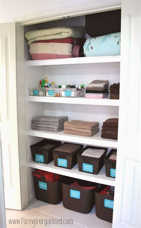 shallow linen closet organization storage ideas pinterest 122 best konmari and minimalism images on pinterest