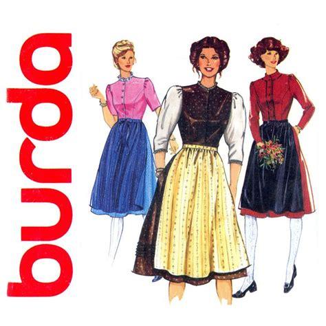 pattern for dirndl apron 782 best images about vintage sewing patterns on pinterest