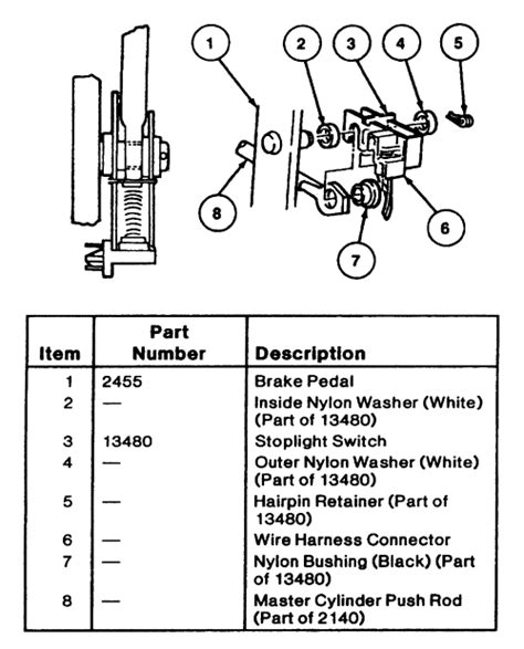 brake light switch autozone how to adjust park brake 2004 gmc autos post