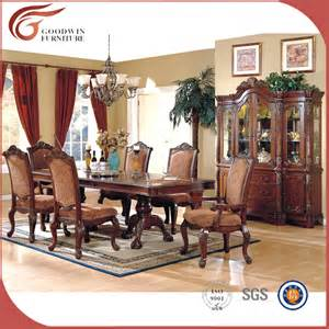 top quality solid wood bedroom furniture set antique