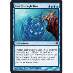 Magic The Gathering Single R Prepare Fight cast through time toys