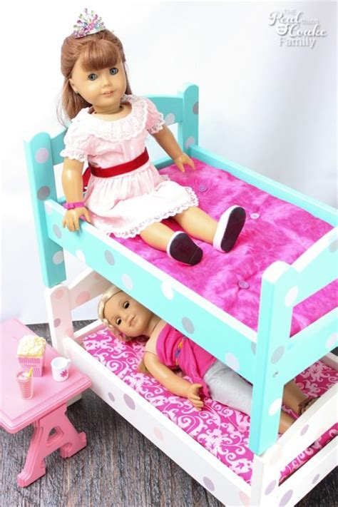 doll bunk bed diy american doll bunk beds