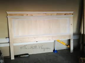 Building A Headboard Diy Updated The Way