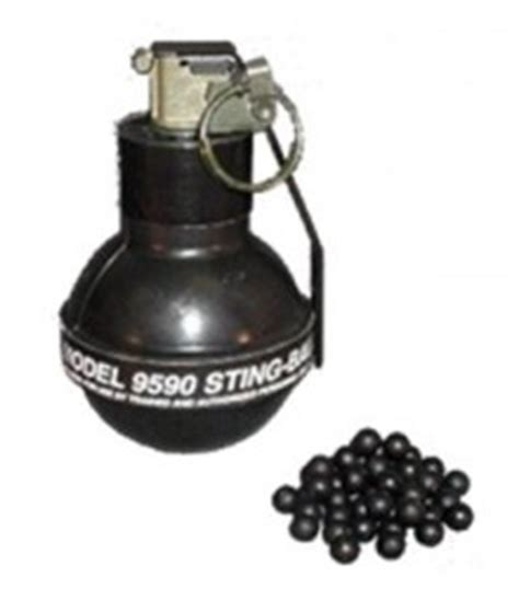 Rubber Sting Grenades Vimad Global Services
