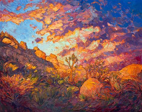 impressionist landscape painting joshua aflame contemporary impressionism landscape