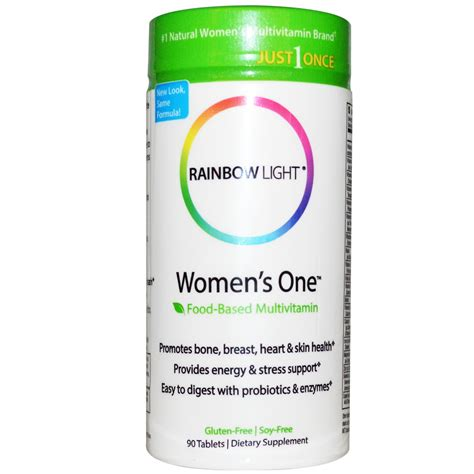 rainbow light women s multivitamin rainbow light just once women s one food based