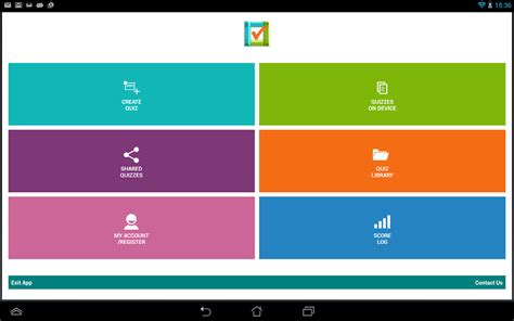 Design Your Own Quiz App   quiz library create share android apps on google play
