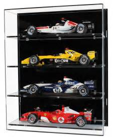 1 18 scale model f1 car display cabinet with four shelves