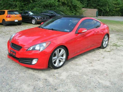 2010 Hyundai Genesis Coupe 3 8 For Sale by 2010 Hyundai Genesis Coupe For Sale Carsforsale