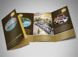 luxury brochure template luxury hotel brochure template mycreativeshop
