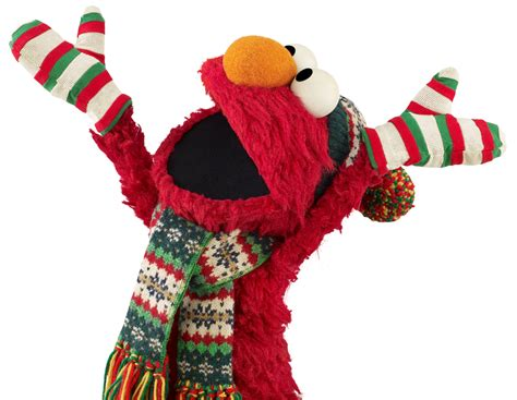 muppets wearing winter clothes