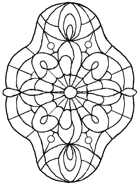 free coloring pages of butterfly stained glass