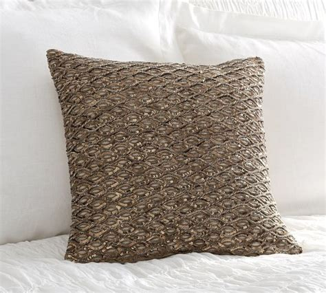 Sequin Decorative Pillows by Sequin Rope Pillow Cover Decorative