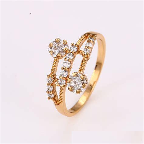 Xuping Anting Gold 18k xuping sj1038 cincin elegan 18k gold plated elevenia