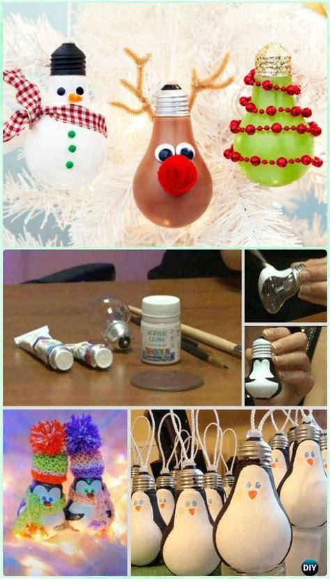 christmas ornament craft ideas 20 easy diy ornament craft ideas for to make