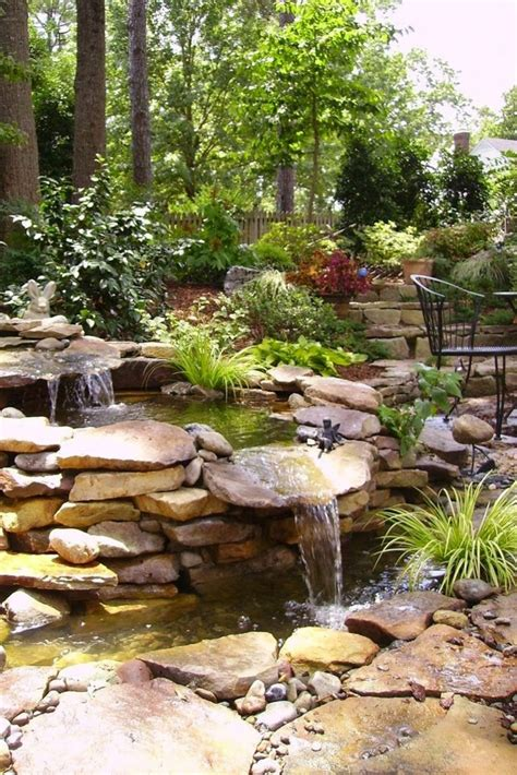 stein wasserfall garten wasserfall im garten selber bauen und die harmonie der
