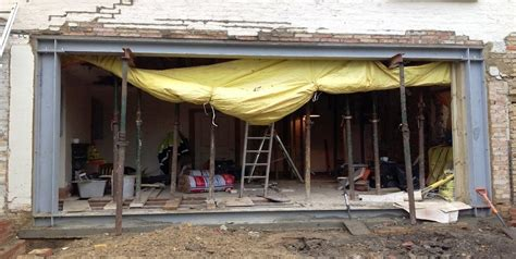 Garage Designs With Living Space Above steel beam design london steel beam installation