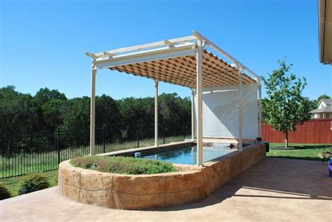 Swimming Pool Awnings by 20 Pool Shade Ideas To Protect You During Summer Days