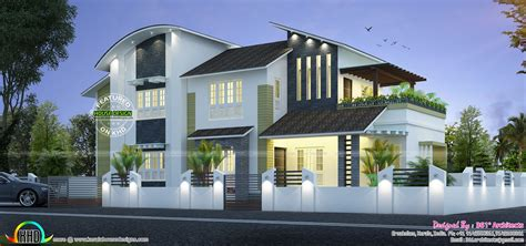 new modern house 35 lakhs kerala home design and floor plans